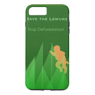 Save the Lemurs iPhone 8 Plus/7 Plus Case