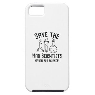 Save The Mad Scientists iPhone 5 Covers