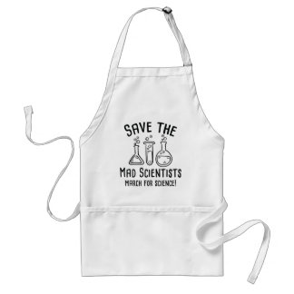 Save The Mad Scientists Standard Apron