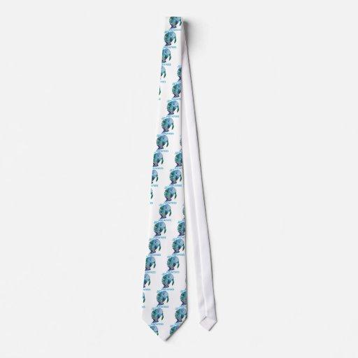 Save The Manatee Necktie