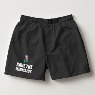 Save The Mermaids Boxers