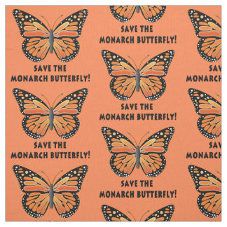 Save the Monarch Butterfly Fabric