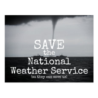 Save the National Weather Service Postcard