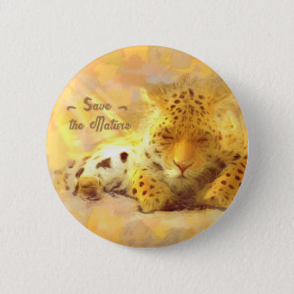 Save the nature 2 inch round button