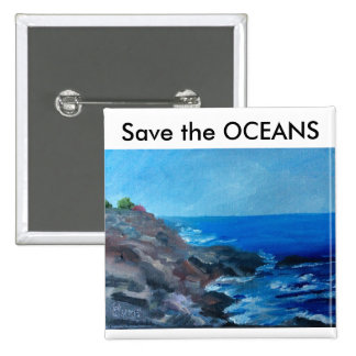 Save the Oceans Pin