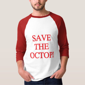 Save the Octopi Red Shirt