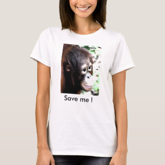 Save the Orangutan T-shirt