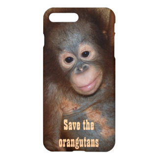 Save the Orangutans Charity Fundraising iPhone 7 Plus Case