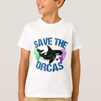 Save the Orcas Cute T-Shirt