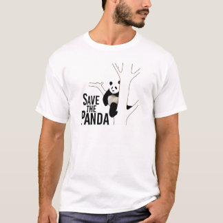 Save the Panda Bear T-Shirt