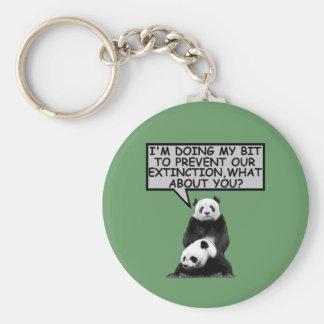 Save the Panda Keychain