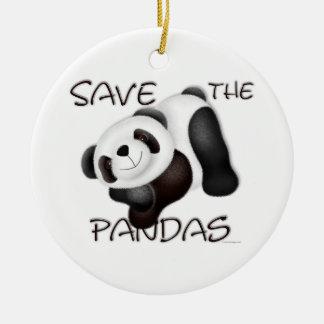 Save The Pandas Ornament