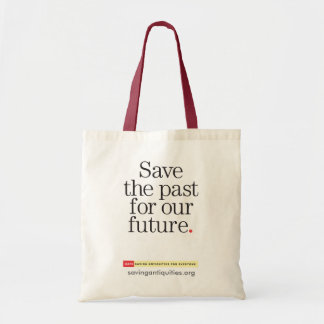 Save the past for our future bag