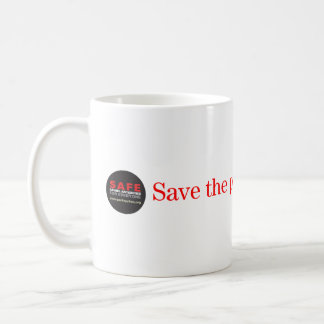 Save the past for our future mug