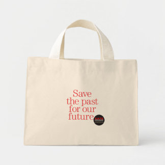Save the past for the future bag