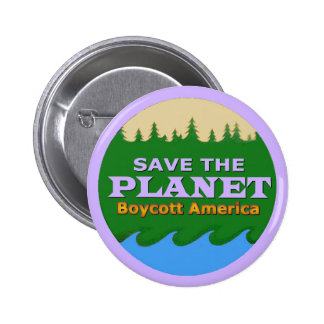 Save the Planet 2 Inch Round Button