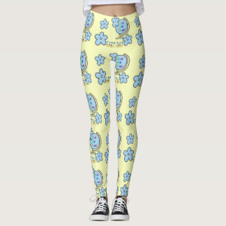 Save the Planet Earth Day Globe Leggings