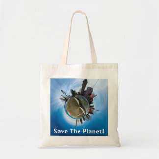 Save The Planet Mackinaw City Panoplanet Tote