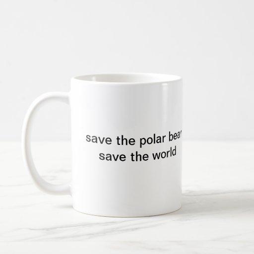 SAVE THE POLAR BEAR MUGS