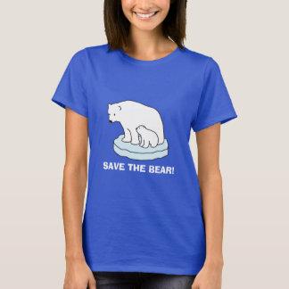 Save The Polar Bear T-shirt
