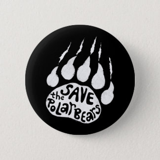 Save The Polar Bears 2 Inch Round Button