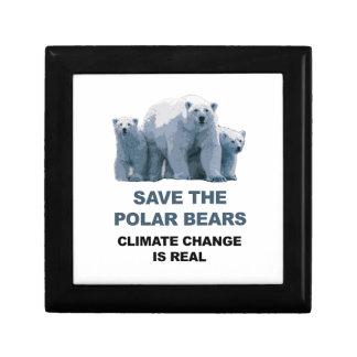Save the Polar Bears Gift Box