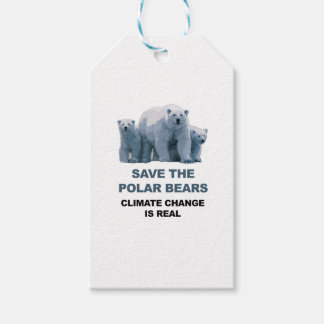 Save the Polar Bears Gift Tags
