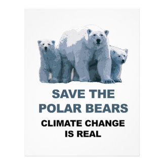 Save the Polar Bears Letterhead