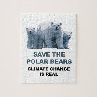 Save the Polar Bears Puzzle