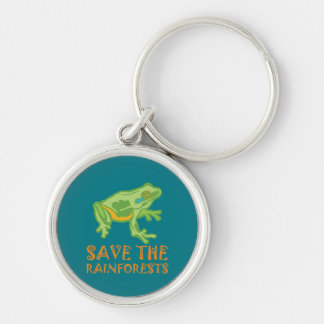 save-the-rainforests Tree Frog Keychain