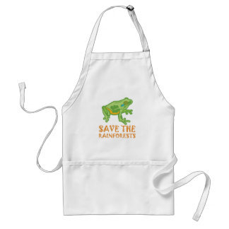 save-the-rainforests Tree Frog Standard Apron