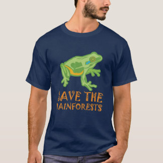 save-the-rainforests Tree Frog T-Shirt