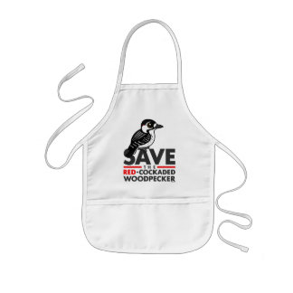 Save the Red-cockaded Woodpecker Kids Apron