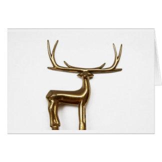 Save the Reindeer Card