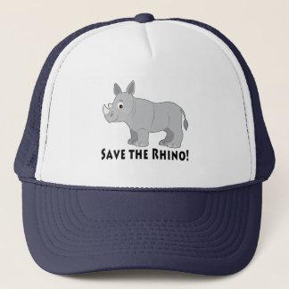 Save the Rhino! Trucker Hat