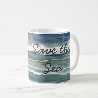 Save the Sea Mugs Global Ocean Seas Activism