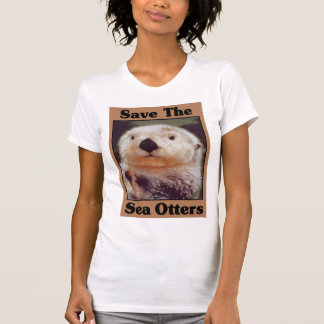 Save the Sea Otters Tees