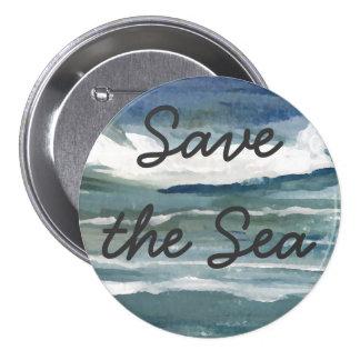 Save the Sea Pins Global Ocean Seas Activism