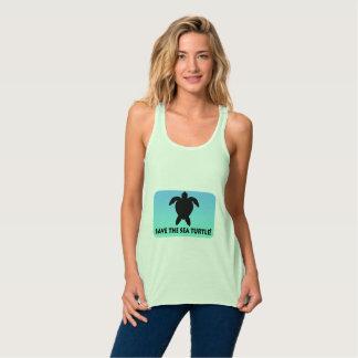 Save the Sea Turtle Tank Top