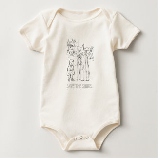 Save the Shire (TM) Baby Bodysuit