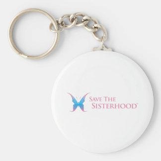 Save The Sisterhood Gear Keychain