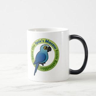 Save the Spix's Macaw from Extinction Magic Mug