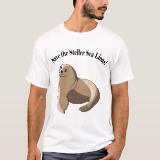 Save the Steller Sea Lions! T-Shirt
