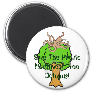 Save the Tree Octopus! Magnet