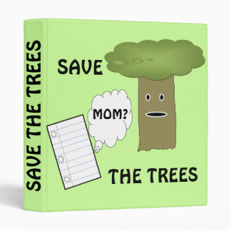 save the trees binder