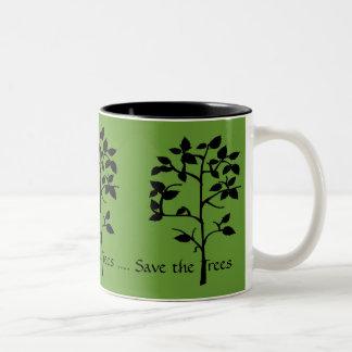 Save the Trees Mug
