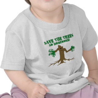 Save The Trees Tee Shirt