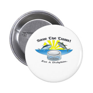 Save The Tuna! 2 Inch Round Button