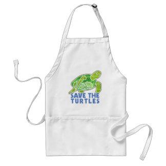 Save the Turtles Standard Apron