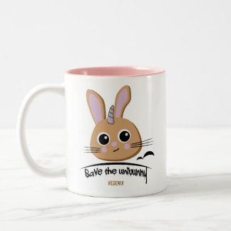 Save the Unibunny Coffee Mug